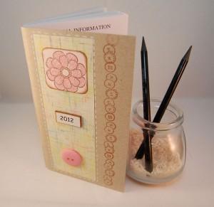 Handmade Memo Calendar 300x291 Handmade Calendar 2012