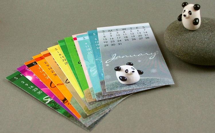Calendar Making Ideas : Handmade calendar latest