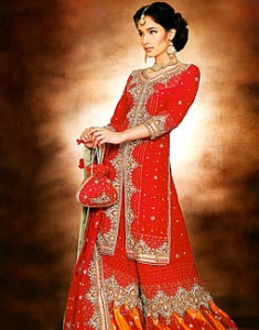 Credible red Nancy - Latest bridal dress