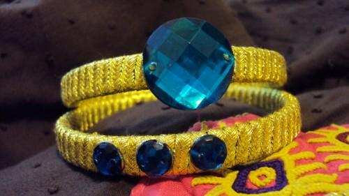 Handmade bangles e1333220972878 Handmade bangles fashion / trend