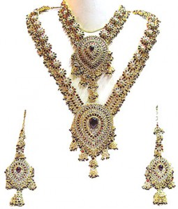Indian Handmade Jewelry 255x300 Indian handmade Kundan bridal jewelry