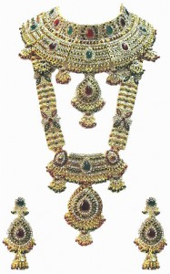 Indian handmade Kundan bridal jewelry
