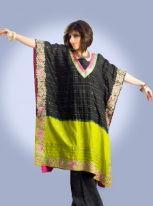 Kaftan Party Dress 224x300 Pakistani Party Wear / Dress