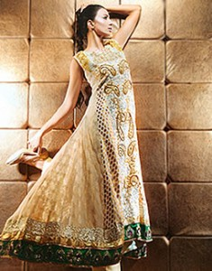 Pale Yellow Agatha 235x300 Pakistani Party Wear / Dress