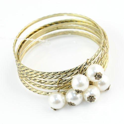 Pearl Bangles Handmade bangles fashion / trend