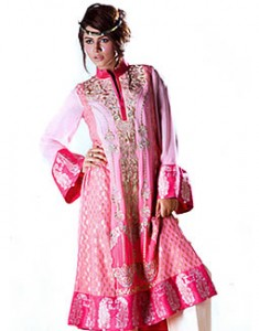Pink Burton 235x300 Pakistani Party Wear / Dress