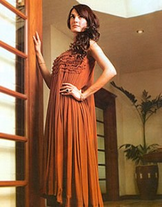 Rust Wemmer 235x300 Pakistani Party Wear / Dress