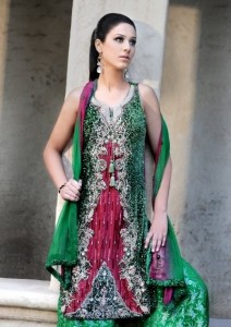 Stylish Pakistani Dress 212x300 Pakistani Party Wear / Dress