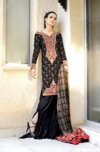 Stylish Party Dresses 199x300 Pakistani Party Wear / Dress
