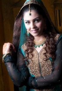 Typical Pakistani dress