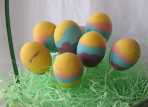 Decorated Handmade Egg Chocolate