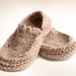 Knit Crochet Slippers