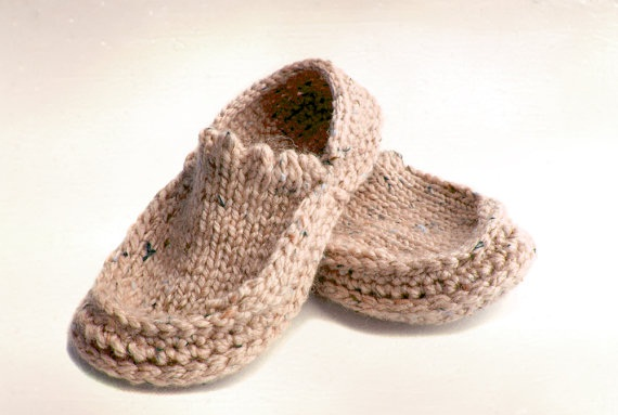 Handmade Knit Crochet Slippers - Latest Handmade