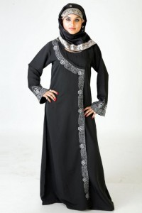 Beautiful Arabian Style Abaya Designs