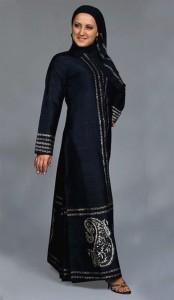 Casual handmade abaya 174x300 Latest handmade Abaya trend