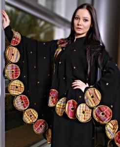 DUBAI Abaya design 245x300 Latest handmade Abaya trend
