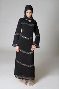Dubai and Saudi Arabia Handmade Abaya Design 200x300 Latest handmade Abaya trend