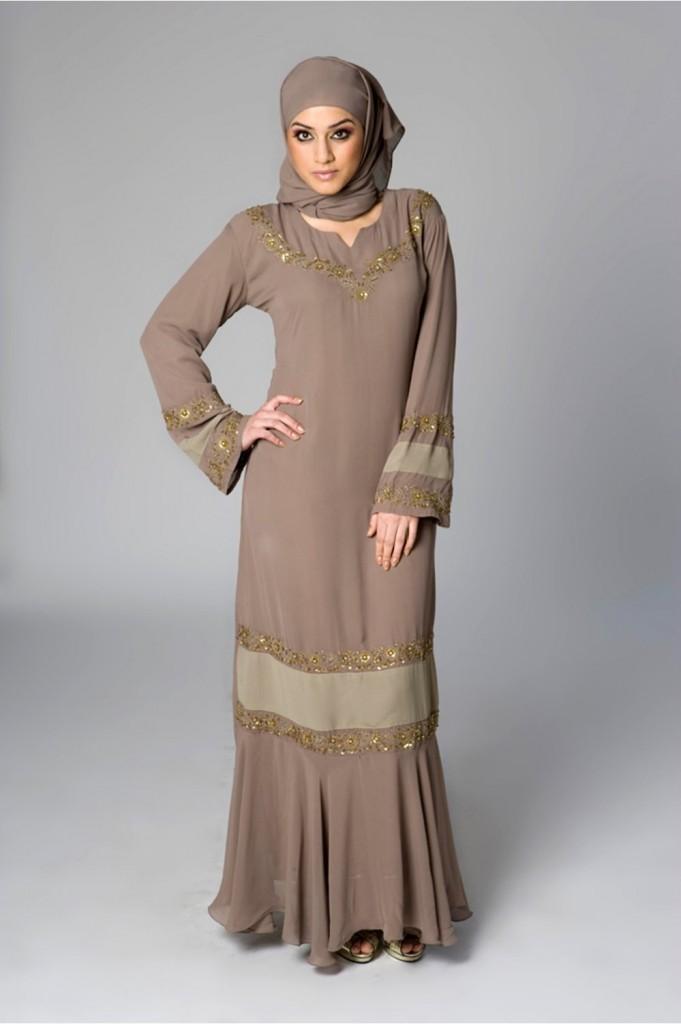 Handmade Abaya Designs 199x300 Latest handmade Abaya trend