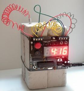 C4 Plastic Explosives Alarm Clock