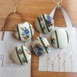 Handmade Cotton Cloth Fabric Buttons