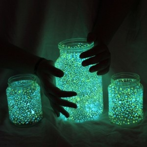 How to make Glowing Jar - tutorial