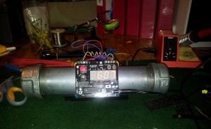 Pipe Bomb Alarm Clock