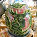Carved Watermelon Animal