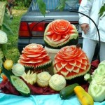 Carved Watermelon - Artwork