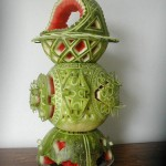Carved Watermelon Trophy