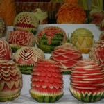 Carved Watermelons - Summer Treat