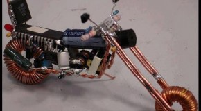 Handcrafted Tiny Motorbike Models