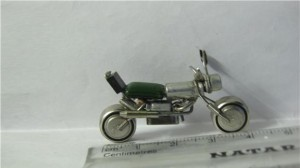 Smallest Motor Bike made up of Electronic Devices