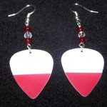 Support and Wear Poland Team Flag Earrings