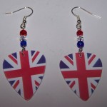 Support and Wear UK Team Flag Earrings