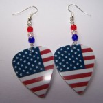 Support and Wear USA Team Flag Earrings