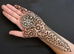 Arabic Mix Eid Mehndi Designs