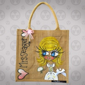ClaireaBella Medium Jute Bag