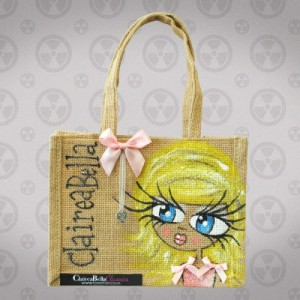 ClaireaBella Polo Jute Bag 300x300 Handmade ClaireaBella Bags With Love