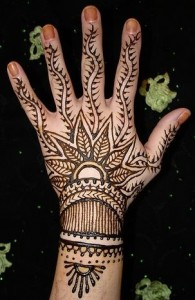 Eid Mehndi Designs 195x300 Latest Mehndi designs for Eid and Wedding