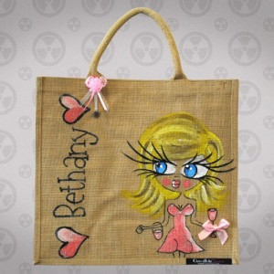 Handcrafted ClaireaBella Jute Bag