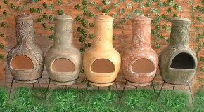 Handmade Chimineas (Crafted Clay Chimineas)