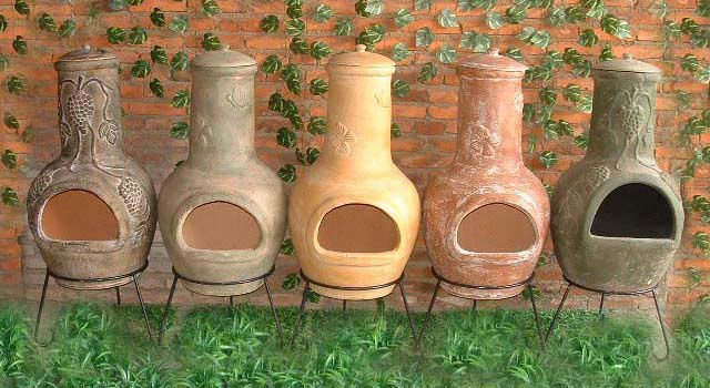Handmade Chimineas Crafted Clay