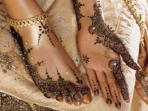Latest Hands and Feet Hina Designs