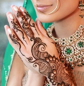 Latest Pakistani Mehndi Designs 294x300 Latest Mehndi designs for Eid and Wedding