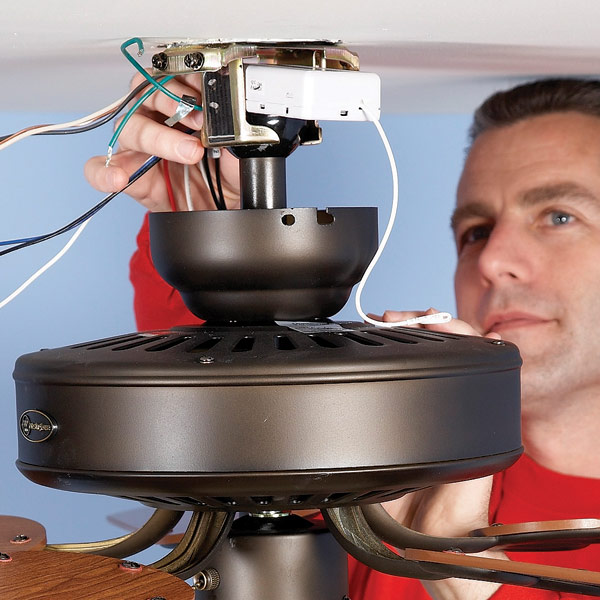 How to install ceiling fan latest handmade how to install ceiling fan mozeypictures Image collections