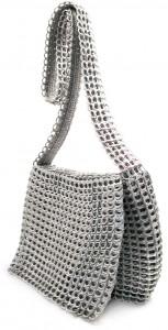 Silver Handmade Bag