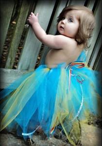 Baby Girl Blue Dress - Kids Fashion