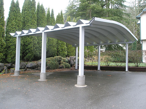Do It Yourself Car Shelter : Building steel carport latest handmade