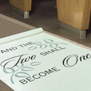 Wedding Aisle Runner 300x300 Simple and Effective Wedding Aisle Decorations