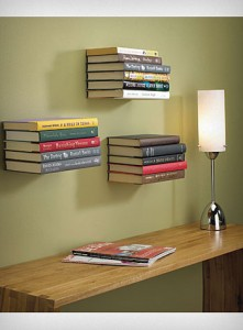 10 Floating Book Shelf 221x300 35 Home DIY Projects That Won't Fail To Inspire You